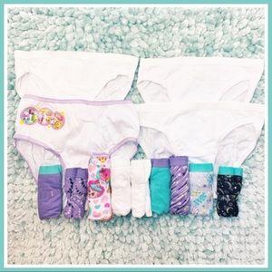 Brand New Girls Cotton Panties Underwear Size 6